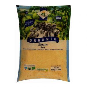 24 Mantra Organic Besan 500 g