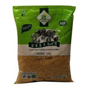 24 Mantra Organic Moong Dal 1 kg