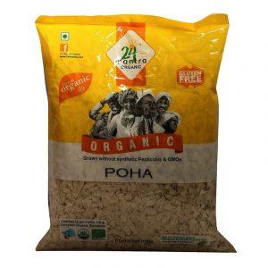 24 Mantra Organic Mota Poha 500 g