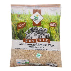 24 Mantra Organic Sona Masuri Brown Rice 1 kg