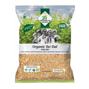 24 Mantra Organic Tur Dal 1 kg