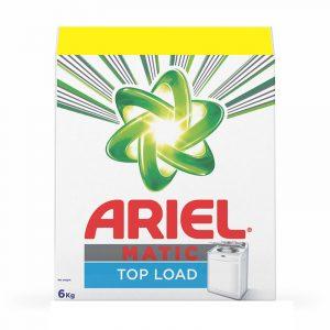 Ariel Detergent Powder Top Load, 4 kg