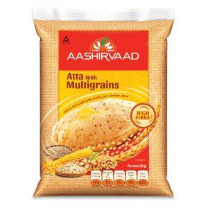 Aashirwaad Atta with Multigrains, 5kg