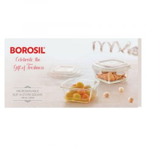 Borosil Round Klip And Store 2 N