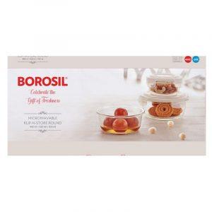 Borosil Round Klip And Store 3 N