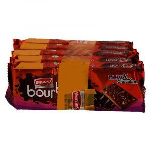 Britannia Bourbon Creams Biscuit Combi Pack, 1 N
