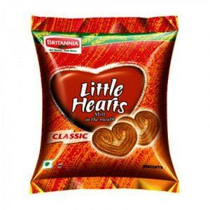 Britannia Little Hearts Cookies 37 g