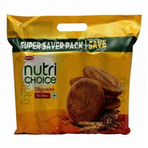 Britannia Nutrichoic Digestive Biscuits 1KG (5N X 200g Each)