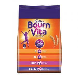 Cadbury Bournvita Chocolate Health Drink Refill, 750 g