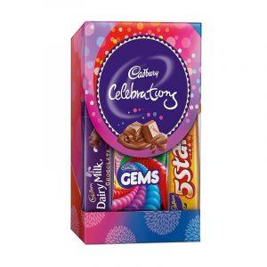 Cadbury Celebration Assorted Chocolates Gift Pack 62.2 g