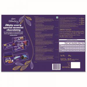Cadbury Celebration Cross Category Pack, 588 g