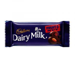 Cadbury Dairy Milk Fruit & Nut Chocolate Bar 36 g