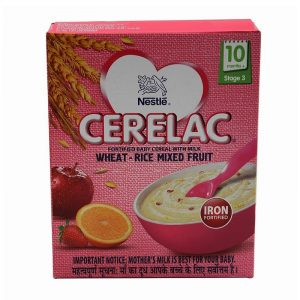 Cerelac Stage 3 Mixed Fruit Baby Food 300 g