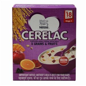 Cerelac Stage 5 Garins & Fruits Baby Food 300 g