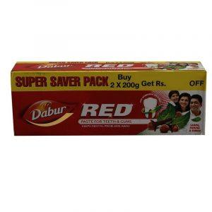 Dabur Red Toothpaste 200 + 200 g