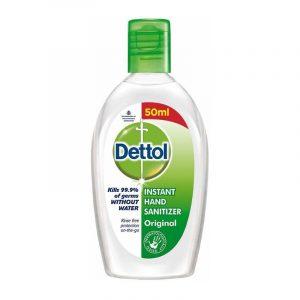 Dettol Hand Sanitizer 50 ml