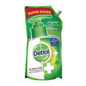 Dettol Original Liquid Hand Wash Pouch, 750 ml