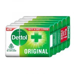 Dettol Soap Original (4 + 1) N (125 g Each)