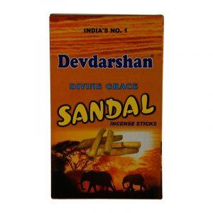 Devdarshan Agarbatti Sandal, 12N (15 Sticks Each)