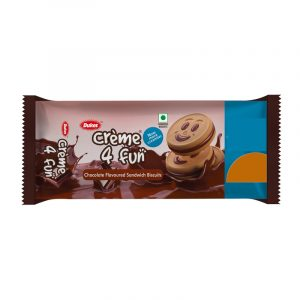 Dukes Cream 4 Fun Chocolate Cream Biscuits 10 N (40 g Each)