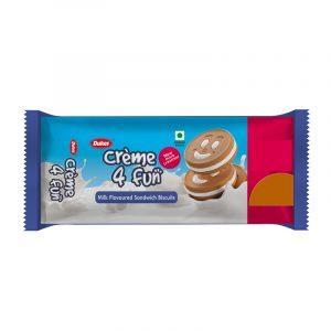 Dukes Cream 4 Fun Milk Biscuits 10 N (Rs. 5 Each)