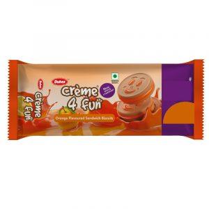 Dukes Cream 4 Fun Orange Biscuits 10 N (Rs. 5 Each)