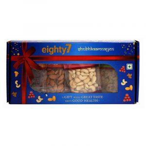 Eighty7 Classic Dry Fruit Gift Box 400 g