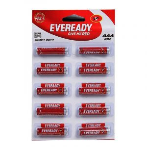 Eveready Red 1012 AAA Cell Battery 10 N