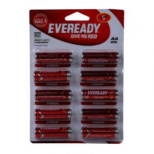 Eveready Red 1015 AA Cell Battery 10 N
