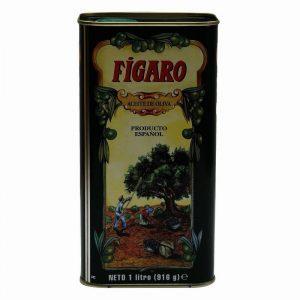 Figaro Pure Olive Oil Tin, 1 L