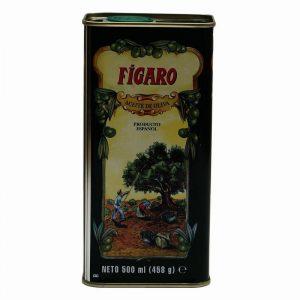 Figaro Pure Olive Oil Tin, 500 ml