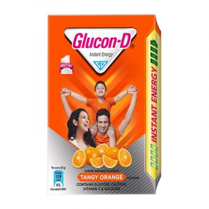 Glucon-D Orange Refill, 200 g