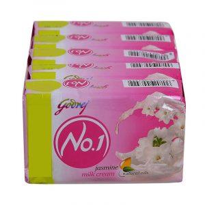 Godrej No.1 Jasmine Soap 4 N (100 g Each)