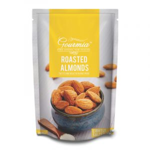 Gourmia Roasted Almonds Lightly Salted, 200 g