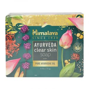 Himalaya Ayurveda Clear Skin Soap 4 N (75 g Each)