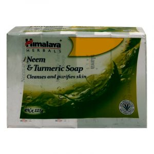 Himalaya Neem & Turmeric Soap 4 N (125 g Each)