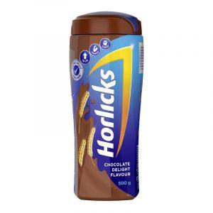 Horlicks Chocolate Health Drink Jar, 500 g