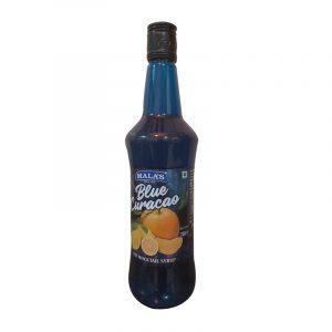 Mala's Blue Curacao Mocktail Drink 750 ml