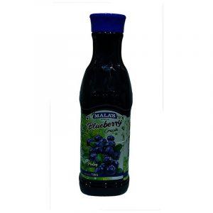 Mala's Crush Drink Blueberry, 1 L