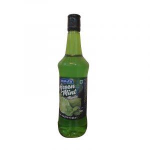Mala's Green Mint Mocktail Drink 750 ml