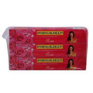 Mangaldeep Rose Agarbatti 12 N (14 Sticks Each)