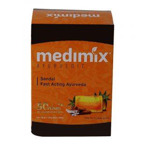 Medimix Sandal Soap 5 N (125 g Each)