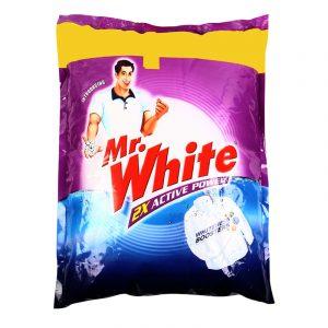 Mr. White Detergent Powder (3 + 1) kg