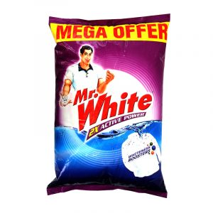 Mr. White Detergent Powder 5 kg