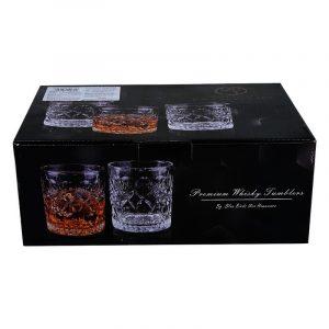 Neelkanth Whiskey Glass Thumb Cut, 1 N