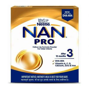 Nestle Nan Pro 3 Baby Milk Food 400 g