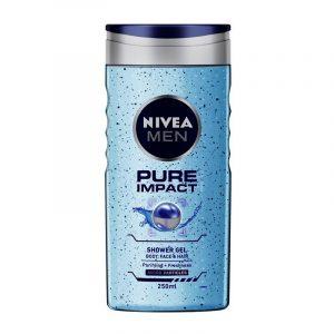 Nivea Shower Gel Pure Impact, 250 ml