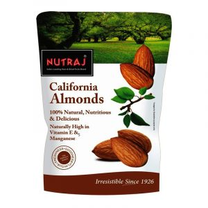 Nutraj California Almonds 200 g