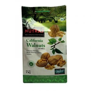 Nutraj California Inshell Whole Walnut 1 kg