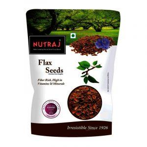 Nutraj Flax Seeds Pouch 200 g